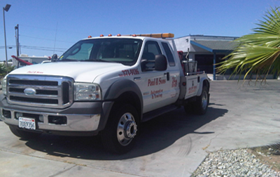 Towing | Paul and Sons Automotive Inc.